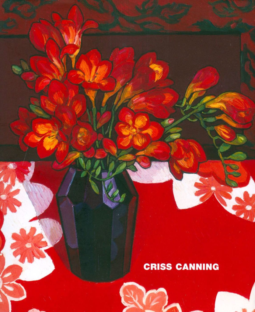 Criss Canning Mini Book (Macmillan Mini Art Series) cover